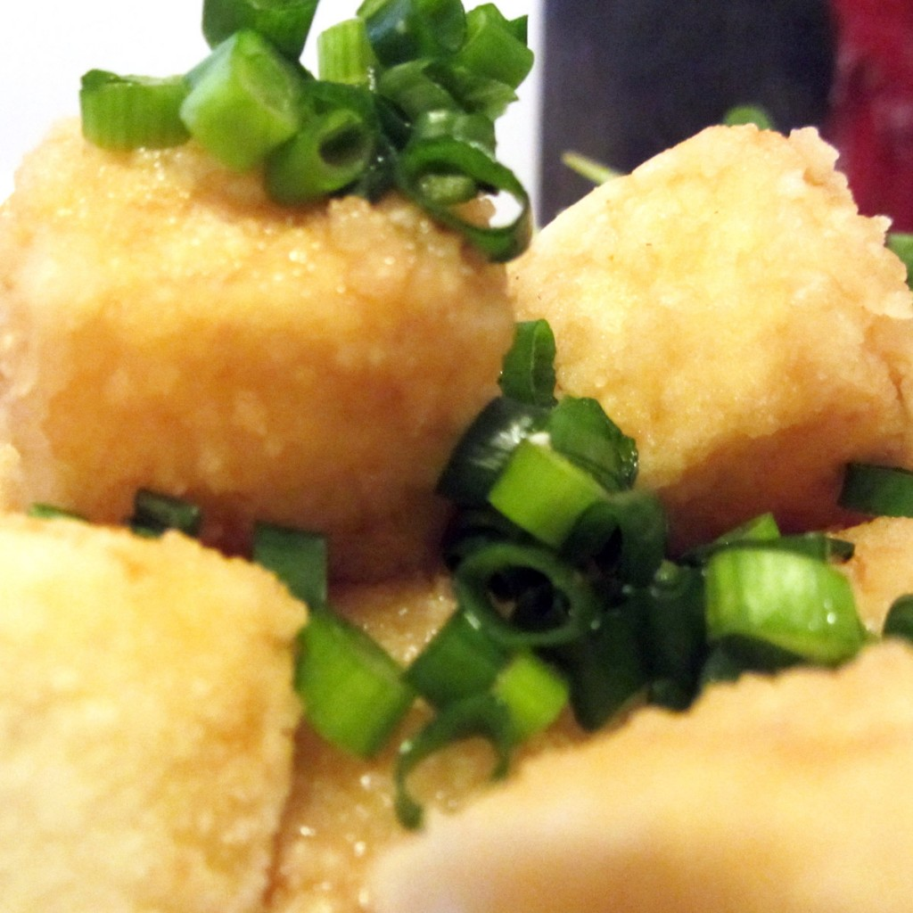 Fried Agedashi Tofu