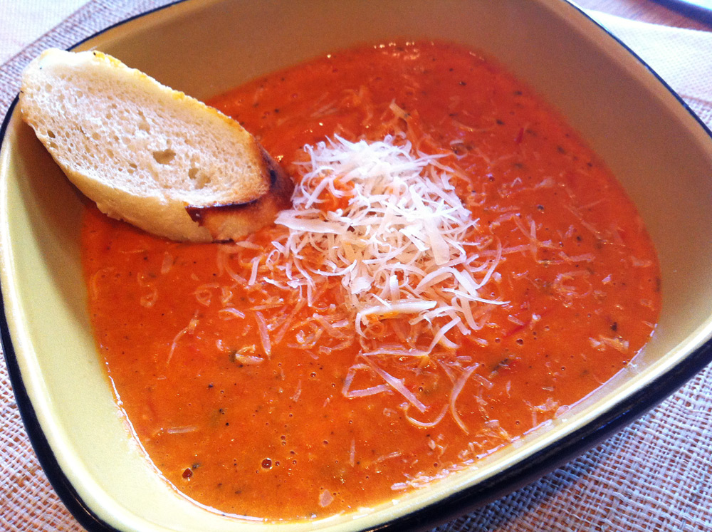 Roasted tomato soup « family of cooks